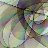 Descenso del color ilustración del vector