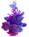 Descenso del color Foto de archivo libre de regalías
