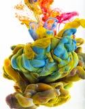 Descenso del color Imágenes de archivo libres de regalías