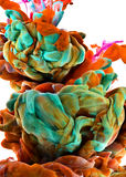 Descenso del color imagen de archivo libre de regalías