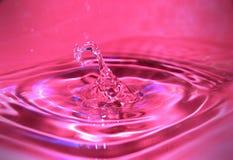 Descenso rosado Fotografía de archivo libre de regalías