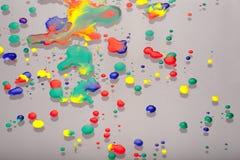 Descensos coloridos Fotos de archivo libres de regalías