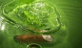 Descensos del agua Imagen de archivo libre de regalías