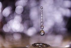 Descensos del agua Fotografía de archivo