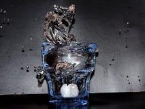 Descensos del agua Imagenes de archivo