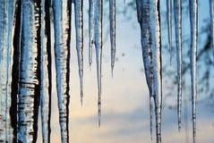 Descensos del hielo Imagenes de archivo