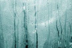 descensos entonados ciánicos de la condensación en invernadero del pvc Fotos de archivo