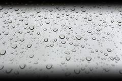 Descensos perfectos del agua Imagen de archivo libre de regalías
