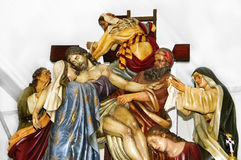 Descent from the Cross. Image of the Descent from the Cross Royalty Free Stock Images
