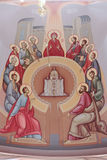 Descent of the Holy Spirit. Pentecost. Royalty Free Stock Images