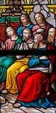 Descent of the Holy Spirit at Pentecost Stock Images
