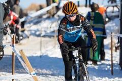 Deschutes Brewery Cup Cyclocross: Alice Pennington Royalty Free Stock Photos