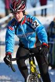 Deschutes Brewery Cup Cyclocross: Carolina Gomez Villafane Royalty Free Stock Image