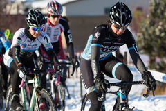 Deschutes Brewery Cup Cyclocross: Caroline Mani Royalty Free Stock Photography