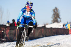 Deschutes Brewery Cup Cyclocross: Kate�ina Nash Stock Images