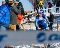 Deschutes Brewery Cup Cyclocross: Kate�ina Nash Royalty Free Stock Image