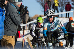 Deschutes Brewery Cup Cyclocross: Nicole Duke Royalty Free Stock Photo