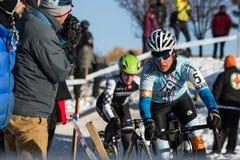 Deschutes Brewery Cup Cyclocross: Nicole Duke Royalty Free Stock Photo