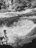 Deschutes faisant rage au-dessus de Dillon Falls Image libre de droits