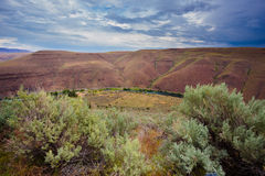 Deschutes River Canyon in Central Oregon Near Maupin Royalty Free Stock Photos