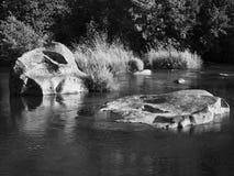 Deschutes River at Cline Falls. The Deschutes River flows through Cline Falls State Park in Central Oregon stock photos