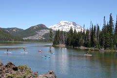Deschutes Wilderness,. View of Deschutes Wilderness, Bend Oregon Stock Photos