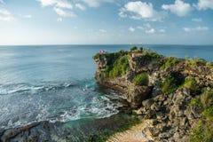 Descida bonita à praia Fotos de Stock Royalty Free