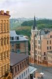 Descida de Andriyivskyy, Kiev, Ucrânia Imagem de Stock