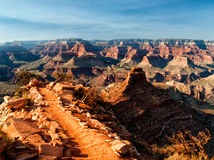 Descida em Grand Canyon Foto de Stock