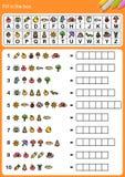 Descifre el alfabeto, complete la caja libre illustration