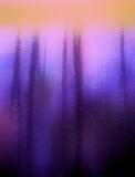 Descolórese en púrpura Foto de archivo libre de regalías