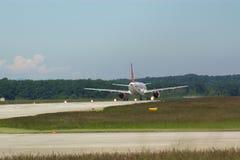 Descolagem do avião Fotografia de Stock Royalty Free