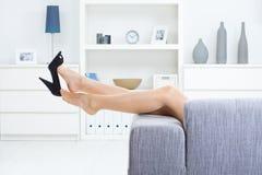 Descolando sapatas imagem de stock royalty free