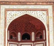 Descoloração de Taj Mahal, Índia Fotografia de Stock Royalty Free