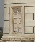 Descoloração de Taj Mahal, minarete da Índia Imagens de Stock