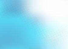 Descoloramiento azul al blanco Ilustración del Vector