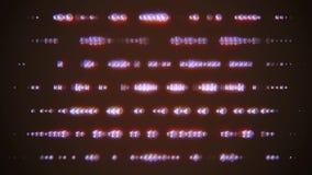 Descoloramiento giratorio al azar de muchos cristales brillantes en el movimiento universal de la nueva calidad del fondo del enc almacen de metraje de vídeo