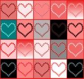 Desconcierte de corazones Imagen de archivo