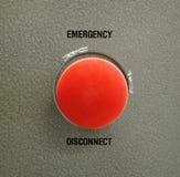 Desconexión de emergencia Fotografía de archivo libre de regalías