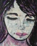 Desconocido de la mujer libre illustration