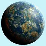 Desconocido del planeta Foto de archivo libre de regalías