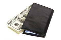 Desconte dentro o livro de cheques Foto de Stock Royalty Free
