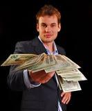 Desconto do dinheiro Fotos de Stock Royalty Free