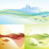 Water environment of shanghai Stock Photography