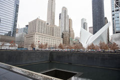 9/11 descripción conmemorativa Fotografía de archivo libre de regalías