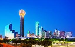 Descripción de Dallas céntrica Fotografía de archivo