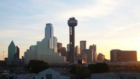 Descripción de Dallas céntrica almacen de metraje de vídeo