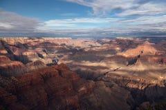 Descripción de Grand Canyon Foto de archivo libre de regalías