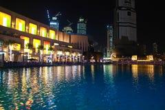 Descripción de la alameda de Dubai fotos de archivo libres de regalías