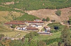 Descripción de la granja del campo Fotos de archivo libres de regalías